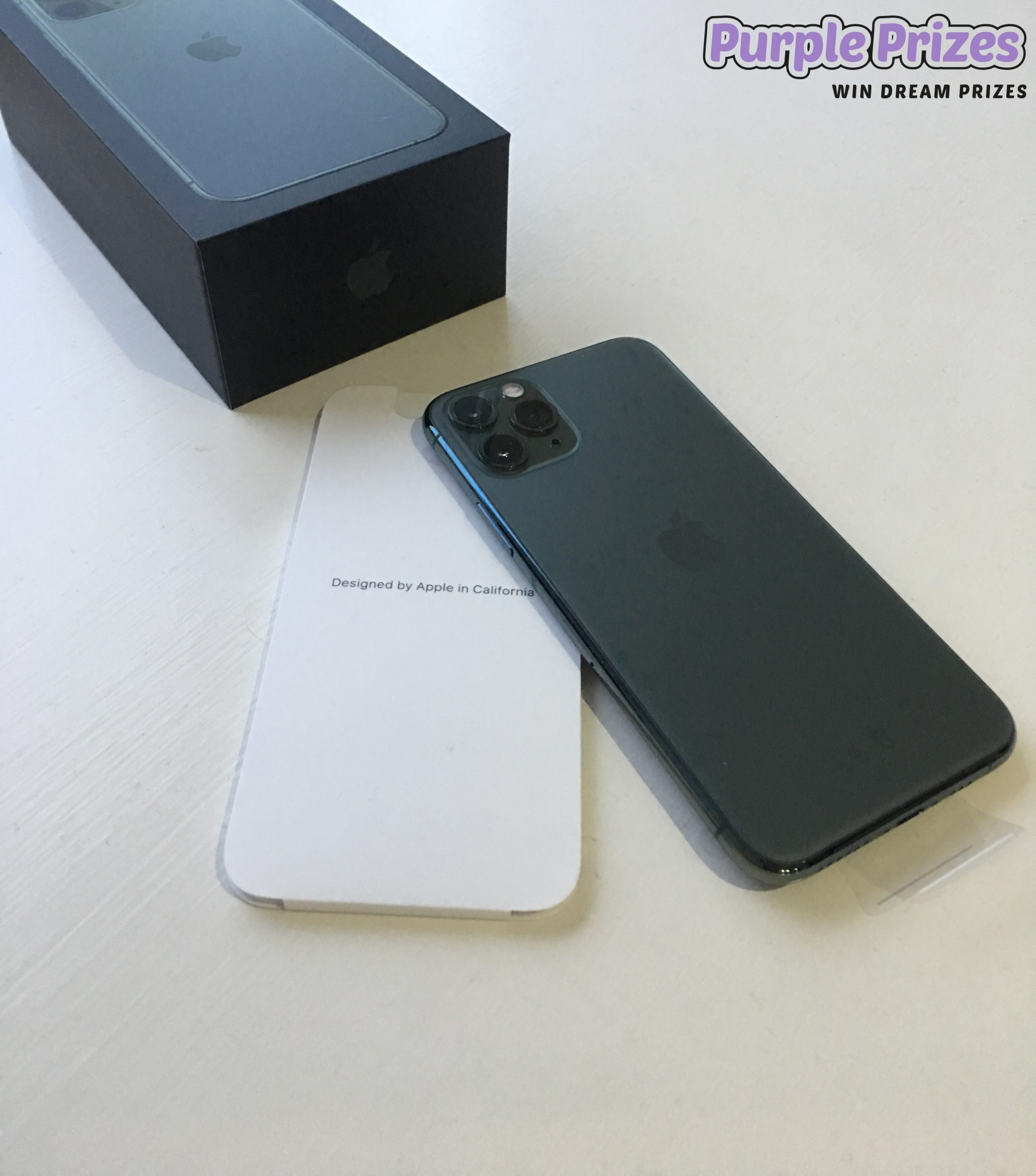 Win An Apple Iphone 11 Pro For Only 6 99 Purple Prizes
