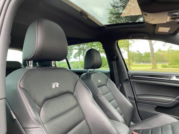 Latest interior seats VW Golf R