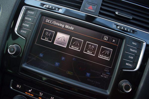 VW Golf R Interior DCC