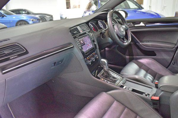 VW Golf R Interior From Passenger Door