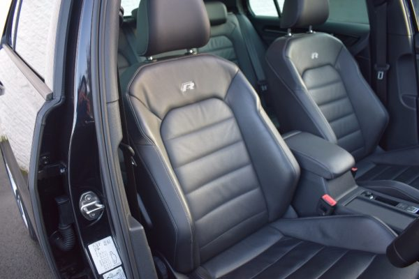 VW Golf R Interior Looking at Drivers Seat