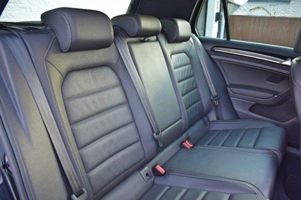 VW Golf R Interior Rear Seats